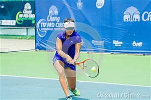 Chang ITF Pro Circuit 2015 Editorial Stock Photo - Image ...