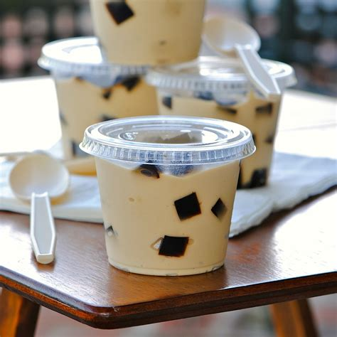 JULES FOOD : Espresso Pudding Coffee Jelly Surprise