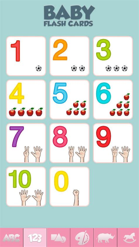 Baby Flash Cards  Game For Learning Alphabet, Numbers, Shapes, Colors, And More • The App