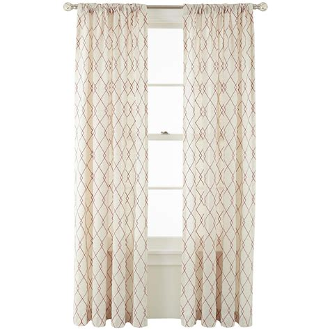 martha stewart marthawindow revel rod pocket back tab curtain panel on popscreen