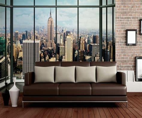 les stickers muraux new york des id 233 es spectaculaires pour vos murs archzine fr
