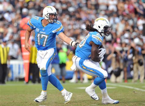 La Chargers Light Blue. (thrill