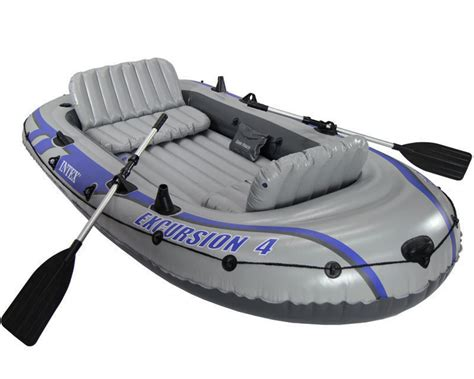 Inflatable Boats In Pakistan by Intex Excursion 4 Inflatable Boat Set In Pakistan