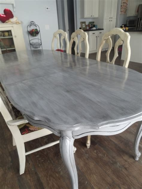 Hometalk  How To Refinish A Kitchen Table Redo