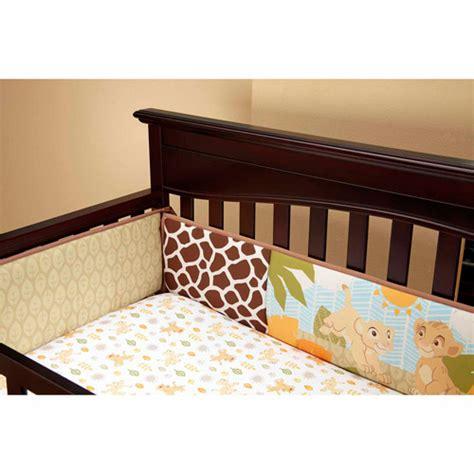 disney baby bedding king jungle crib bumper walmart