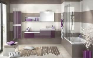 mosaique violette salle de bain images