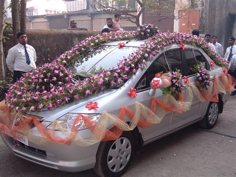 fashions updated marriage decoration car
