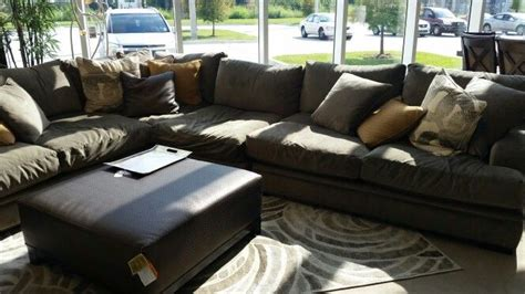 home fontaine 4 pc sectional rooms to go living room