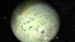 Sailing Past Neptune's Moon Triton - YouTube