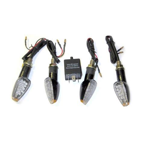 quatre clignotants 224 leds plus centrale clignotante pour moto led effect