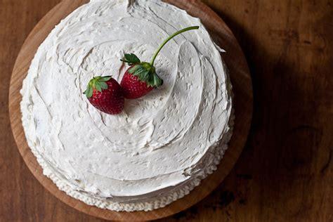 white cake with strawberry filling white cake with strawberry filling and buttercream the