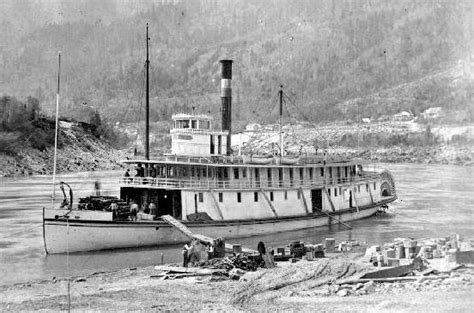 Lake Yale Public Boat R by File R P Rithet Sternwheeler At Yale On Fraser River