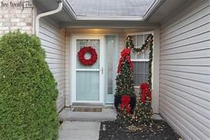 Weihnachtskranz Für Tür : weihnachtsdeko hauseingang tipps f r stimmungsvolle dekoration vor der haust r ~ Markanthonyermac.com Haus und Dekorationen