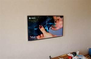 Fernseher Aufhängen Höhe : tv wand kabel unterputz m bel design idee f r sie ~ Markanthonyermac.com Haus und Dekorationen