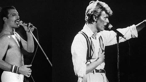 David Bowie And Freddie Mercury's Isolated Under Pressure