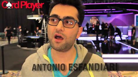 2014 Pca  Antonio Esfandiari At Final Table Of $100k