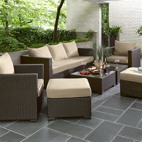 grand resort osborn 7pc sofa seating set limited availability outdoor living