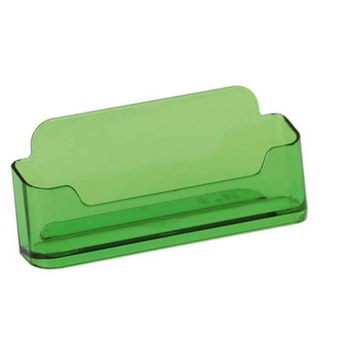 prsentoir porte carte de visite comptoir horizontal vert