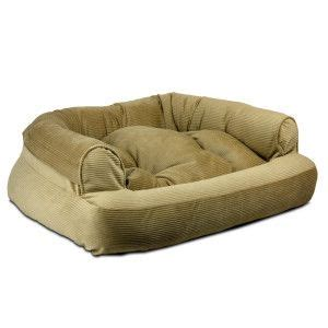 snoozer overstuffed sofa pet bed beds petsmart pets for the dogs cats