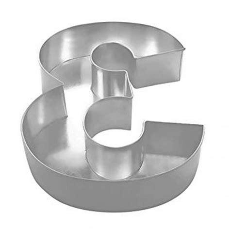 number cake pans number 3 professional large baking tin cake pan