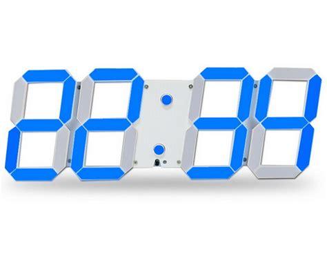 led squelette horloge murale a affichage digitale eclairage 24 12 heure 3d kxp eur 33 99