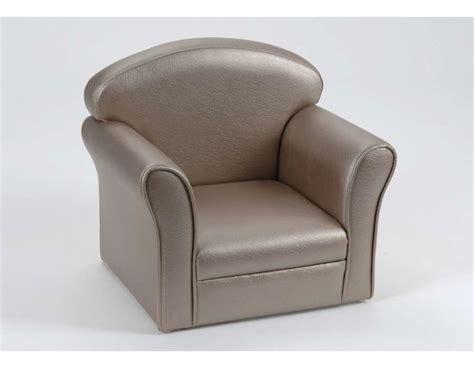 fauteuil club pour enfant bronze amadeus