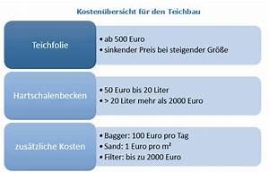 Hausbau Kosten Pro Kubikmeter : gartenteich schwimmteich anlegen kosten anleitung ~ Markanthonyermac.com Haus und Dekorationen