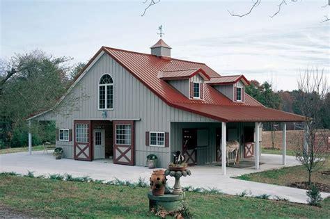 pole barns with living quarters above studio design
