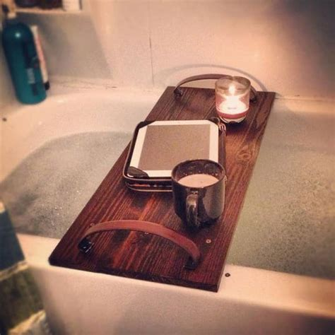 diy bathtub caddy with reading rack 28 images wooden bathtub reading tray caddy with book