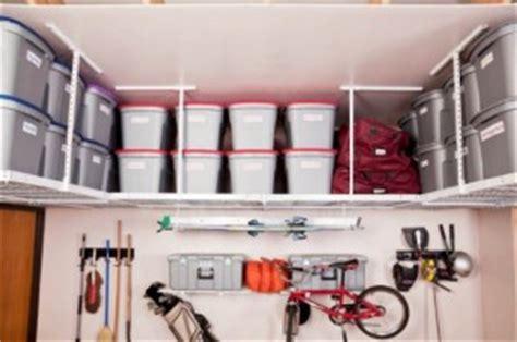 inspiration de rangement au plafond pour votre garage