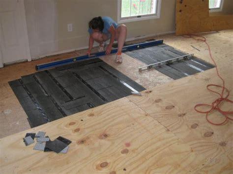 how to fix uneven floors in an house floor matttroy