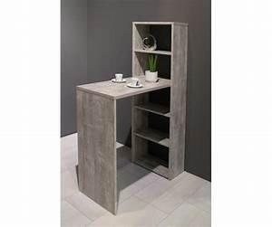 Bartisch Mit Regal : tresentisch mit regal theke bar bartisch ca 90 x 92 148 x 45 cm beton grau ebay ~ Markanthonyermac.com Haus und Dekorationen