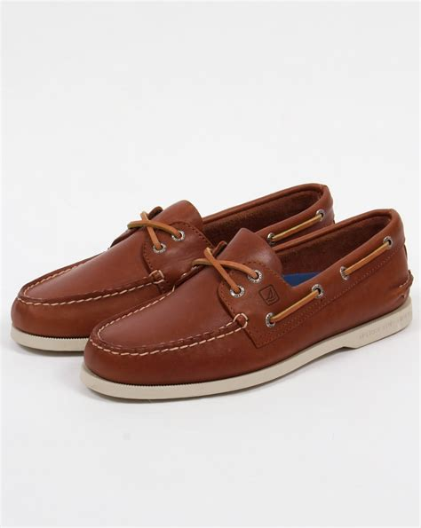 Tan Sperry Boat Shoes by Sperry Authentic Original Boat Shoe Tan Dockside Mens