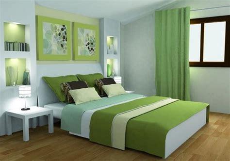 indogate chambre vert et marron