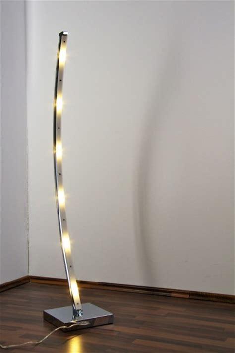 ladaire design moderne le sur pied led le de sol luminaire chrome 61239 ebay