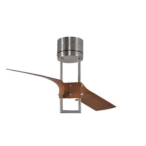 harbor revel island 52 in brushed nickel flush mount ceiling fan w remote ebay