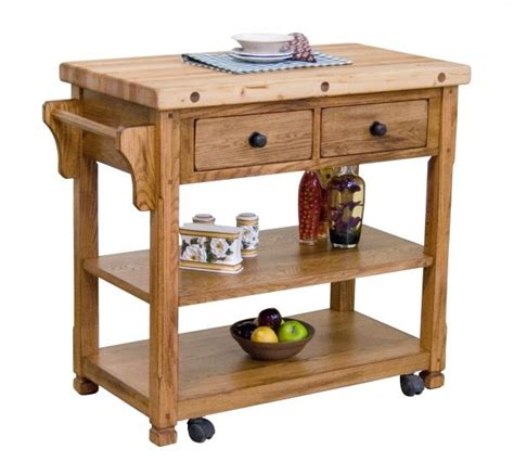 sedona rustic oak kitchen island 399 99 available at just cabinets furniture more and
