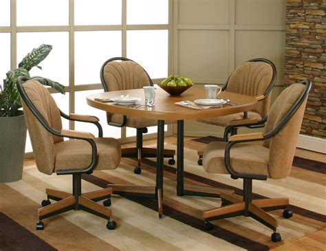 dining room chairs on casters peenmedia