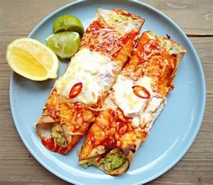 Wraps Füllung Vegetarisch : mexicaanse wraps vegetarisch food love and happiness ~ Markanthonyermac.com Haus und Dekorationen