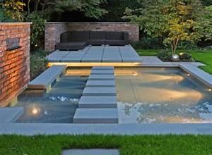 Wasserlauf Garten Modern : wasser im garten freude die ganze familie ~ Markanthonyermac.com Haus und Dekorationen