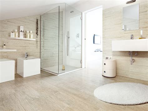 Bathroom Tile Wood Look-home And Family