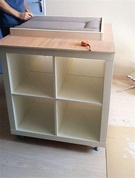 un meuble 224 langer avec du rangement bb babies and ikea hack