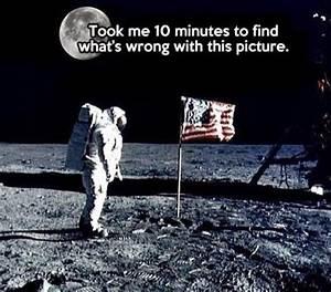 Fake Moon Landing Meme - Pics about space