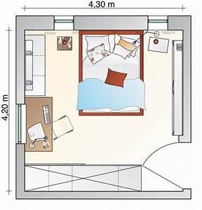 Mein Zimmer Einrichten : beengtes schlafzimmer bekommt neuen freiraum sch ner wohnen ~ Markanthonyermac.com Haus und Dekorationen