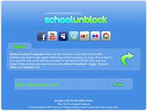 How to Access Facebook/Youtube at College, School or ...