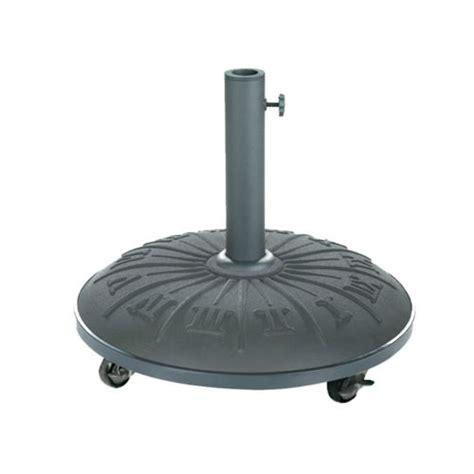 hesp 233 ride pied de parasol b 233 ton noir avec motif 25 kg pas cher achat vente dalles parasol