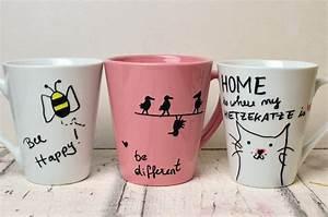 Tassen Zum Selbst Bemalen : tassen bemalen eine einfache geschenkidee travel lifestyleblog ~ Markanthonyermac.com Haus und Dekorationen