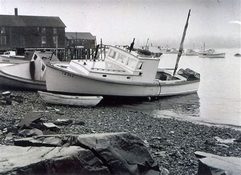 Boats And Harbors Online by Lobster Boat In Bass Harbor Penobscot Bay History Online