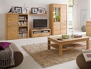 Wohnzimmer Eiche Massiv : wohnzimmer pisa 41 eiche bianco massiv 5 teilig wohnwand couchtisch wohnbereiche wohnzimmer ~ Markanthonyermac.com Haus und Dekorationen