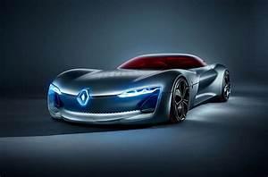 Future Cars 2020: Renault's Trezor Green Technology Car ...